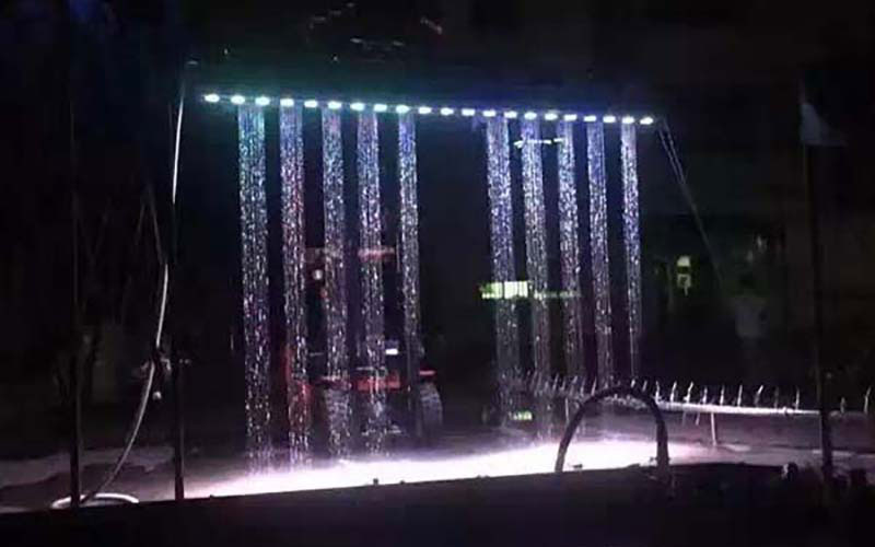 Amazing Musical Fountain Graphic Water Curtain