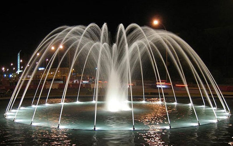 Application of Music Fountain in Landscape Design
