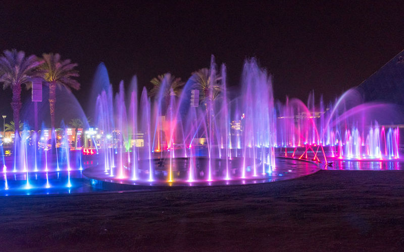 Asia's largest musical fountain inaugurated