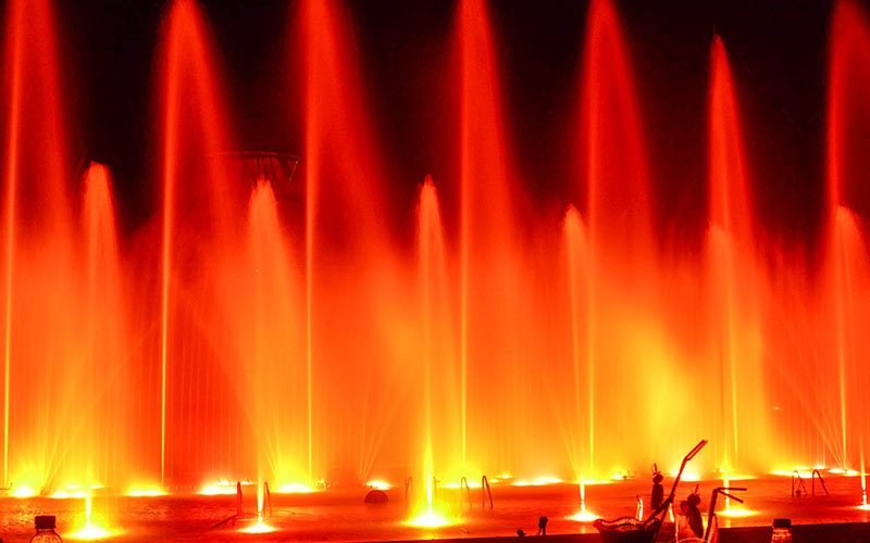 Dancing Musical Fountains