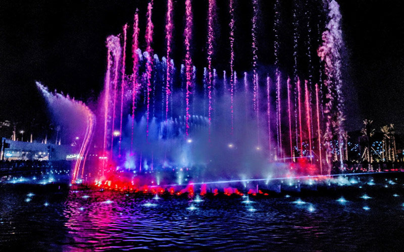 Dry Musical Fountains Work