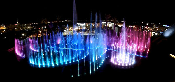 musical fountain