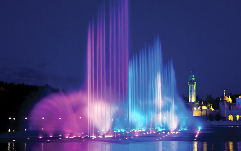 Music performances of musical fountain