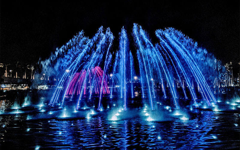 Musical Fountain Composition