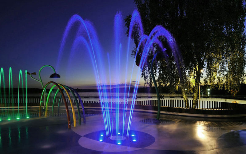 The Symbolic Meaning of a Water Musical Fountain