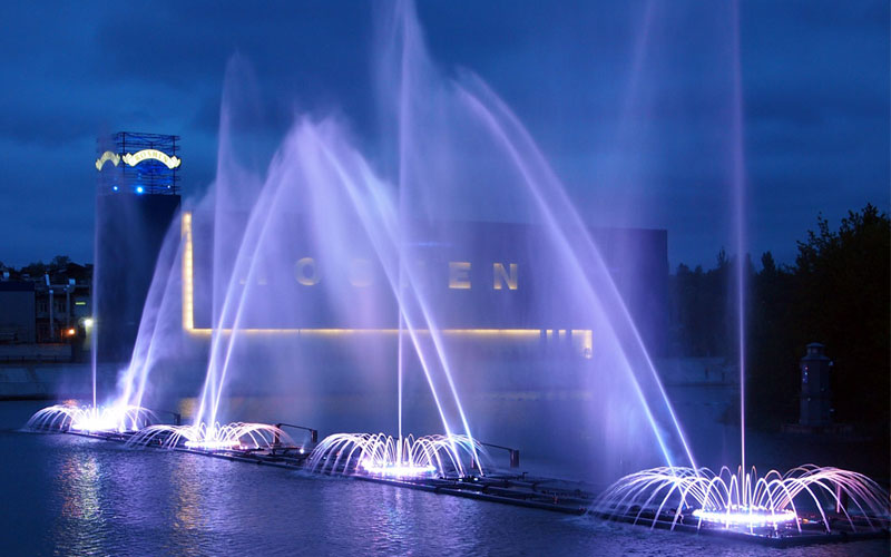 Water Show of Music Fountain